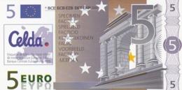 Billet Factice   De 5 € Tres  Bon état - Andere