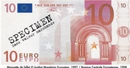 Billet Factice   De 10 € Tres  Bon état - Andere