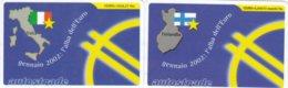 VIACARD GENNAIO 2002 L' ALBA DELL' EURO - Italia