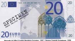 Billet Factice   De 20 € Tres  Bon état - Andere