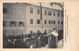 ZELL AM SEE AUSTRIA ~ WINTERSPORTFEST~ 1906 FESTZUG PINZGAUER FAMILIE ~ PHOTO POSTCARD 42391 - Zell Am See