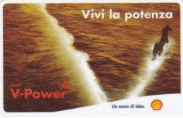 VIACARD SHELL V-POWER VIVI LA POTENZA - Italia