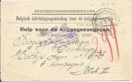 Kriegsgefangenensendung Van Gent Naar Sennelager, 19.8.38 - WW I