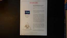 Belgique 1999 : FEUILLET D'ART EN OR 23 CARATS.Timbre Numéro 2814 - Belgium