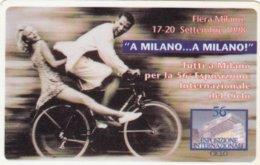 VIACARD FIERA DI MILANO ESPOSIZIONE INTERNAZIONALE CICLO - Italia