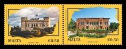 Malta 2019 Mih. 2092/93 Palaces (joint Issue Malta-Romania) MNH ** - Malta