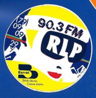 A.C.RADIO 90.3 FM RLP - Autocollants