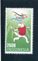 INDONESIE Indonesia 2011 Y&T ??** - Tennis Tavolo