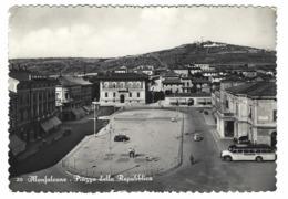 1169 - MONFALCONE GORIZIA PIAZZA DELLA REPUBBLICA ANIMATA 1953 - Gorizia