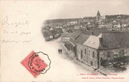 80 Bray Sur Somme Vue Panoramique Cachet Convoyeur Ambulant 1904 Amiens à Tergnier - Bray Sur Somme