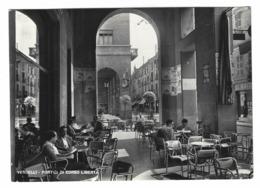 1170 - VERCELLI PORTICI DI CORSO LIBERTA' ANIMATA 1956 - Vercelli