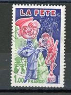 "FRANCE - LA FETE - N° Yvert 1888 Obl. Ronde De ""VILLARD DE LANS 1976"" - France"