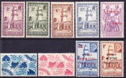 Côte Des Somalis 1938-1944 Lot De Timbres Neufs Sans Charnière ** - Französich-Somaliküste (1894-1967)