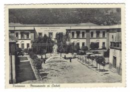 1174 - FIVIZZANO MONUMENTO AI CADUTI MASSA CARRARA SCUOLE ELEMENTARI 1957 - Massa
