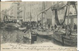 TOULON  ( VAR )   LE QUAI DU PARTI - Toulon