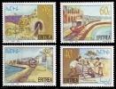 (001) Eritrea  Railway / Chemin De Fer / Eisenbahn / Locomotives / Trains  ** / Mnh  Michel 114-17 - Eritrea