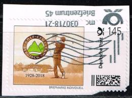 Briefmarke-individuell, Golf-Club Bergisch - Gladbach - [7] República Federal