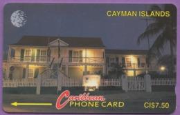 Telecarte °_ Iles Cayman-National Museum-7,50$-R/V 4257 - Kaimaninseln (Cayman I.)