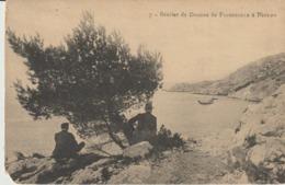 C. P. A.  - SENTIER DES DOUANIERS DE FIGUEROLLE A NIOLON - 7 - ANIMÉE - - Autres Communes