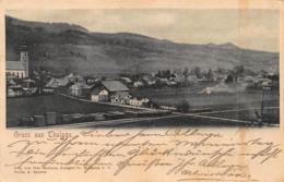 GRUSS Aus THALGAU AUSTRIA ~ PANORAMA ~ 1904 OTTO MATHAUS PHOTO POSTCARD 42394 - Thalgau