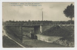 Ypres Ieper Economie Spaarzaamheid  Le Pont Des Pierres  De Steenen Brug - Ieper