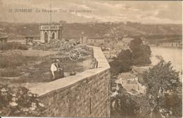 Namur - La Meuse Et Tour Des Guetteurs -r - Namur