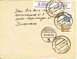 Brazil Cover Sent To Denmark 9-5-1986 - Brazilië
