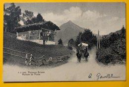 9213 -  Paysage Suisse Voiture De Poste - Other