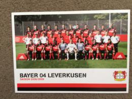 Bayer Lekerkusen Postcard - Fussball