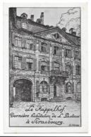 CPA Pasteur Exposition Internationale Strasbourg 1923 - Le Kuppelhof - Signé Blumer - Strasbourg