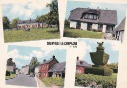 CR 2 C  TOURVILLE LA CAMPAGNE D27 EURE  4 VUES - Frankrijk