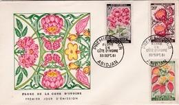 COTE D'IVOIRE ABIDJAN FLORE DE LA COTE D IVOIRE / 30/09/1961 - Costa D'Avorio (1960-...)