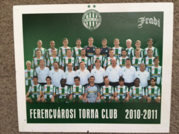 Ferencvarosi Postcard - Fussball