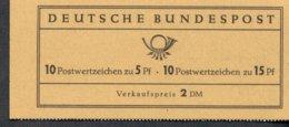 Markenheftchen Bund Postfr. MH 08 I MNH ** - [7] West-Duitsland