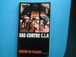 LIVRE - -  SAS -  SAS CONTRE C.I.A.- Gérard De Villiers- N° 2 - Editions VAUGIRARD - Gerard De Villiers