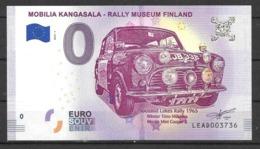 Billet 0 Euro FINLANDE RALLY MUSEUM FINLAND 2018.1rr - EURO