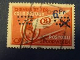 BELGIQUE PERFIN Perforé COLIS POSTAUX - 1934-51