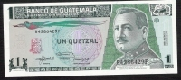 GUATEMALA  P73c  1 QUETZAL  22.1.1992     UNC. - Guatemala