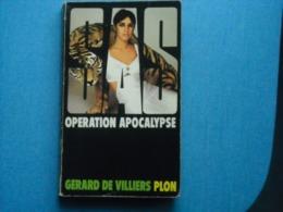 LIVRE - -  SAS -  OPERATION APOCALYPSE .- Gérard De Villiers- N° 3 - Gerard De Villiers