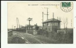 62 - Pas De Calais - Achicourt- La Bifurcation Du Chemin De Fer - Train - Locomotive - - Francia