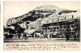 GIBRALTAR Casemates Square ( Paquebot Shipping) 1896 - Gibilterra