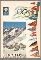 CPM 38 - Les Deux Alpes - Jeux Olympiques D'Hiver - Grenoble - 1968 - Zonder Classificatie