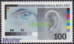 Specimen, Germany Sc1810 International Radio Exhibition - Weltausstellung