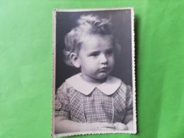 """PORTRAIT FILLETTE CACHET PHOTOGRAPHE """"FROMENT"""" NIVELLES BRABANT WALLON STALAG XIA CAMP DEUTSCHLAND GUERRE 1939 - 1945 - Nivelles"""