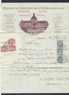 "T2."" Exposition Philatelique Internationale. Strasbourg Juin 1927."" Special Calendar Stamp. Rarity. - France"