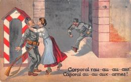 Armée Suisse - Humour - Caporal Rau..au..au..aus Caporal Au..au..aux..armes! - Andere