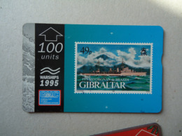 GIBRALTAR  USED PHONECARDS  HISTORIAL SHIPS - Barche