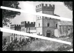 BATTIPAGLIA - SALERNO  - ANNI 70 - VECCHIA FOTO ORIGINALE - ANTICO CASTELLO - BELLA INQUADRATURA - Battipaglia