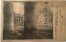 V 10775 Roma - Una Parte Della Piazza S. Pietro - San Pietro