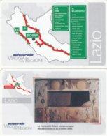 VIACARD AUTOSTRADE VIAGGIA NELLE REGIONI LAZIO - Italia